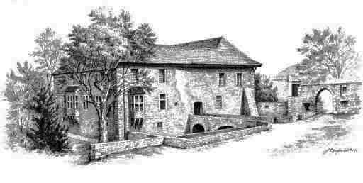 Zeichnung des Hauses Herbede